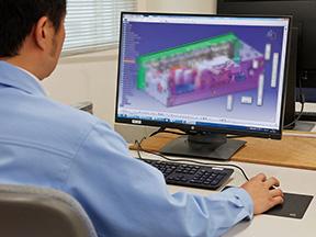 CADを駆使して行う回路設計・機構設計